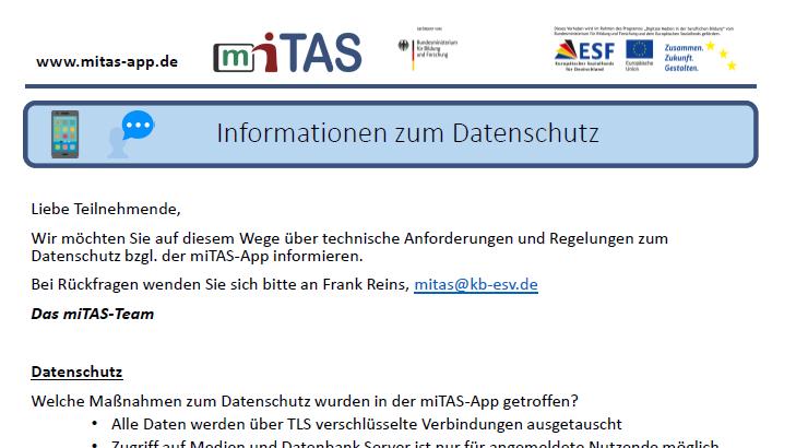 Technische Hinweise und Informationen zum Datenschutz