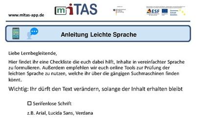 """PDF zur """"Anleitung für leichte Sprache"""" öffnen"""