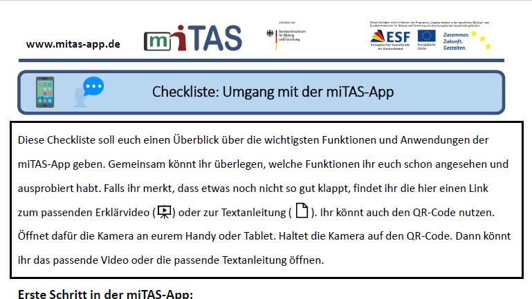 """PDF zur """"Checkliste"""" öffnen"""