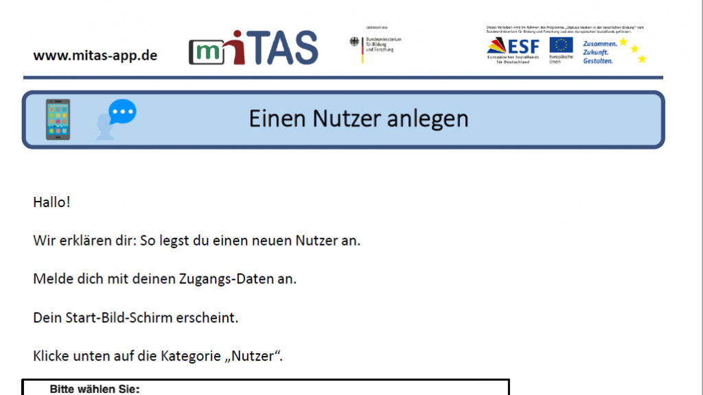 """PDF zur """"Nutzer anlegen barrierefrei"""" öffnen"""